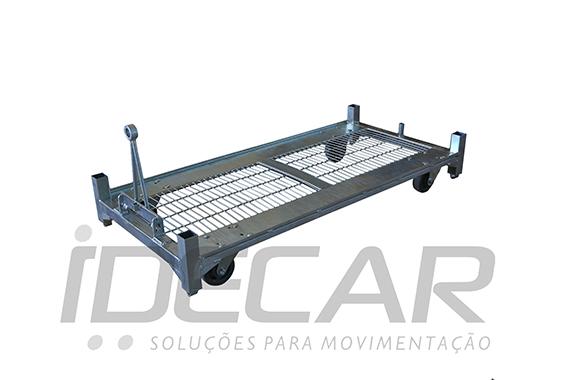 BASE CARRINHO TRANSPORTE DE FLORES REFORÇADO - CG01.100